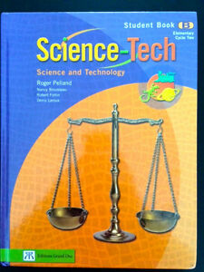 Science-Tech Student Book B Cycle 2 (en anglais)