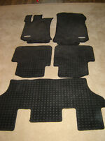 Winter rubber /all season  mats all 3 rows