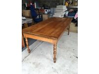 Antique French cherry wood table