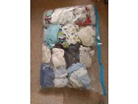 Huge bundle of quality baby boy clothes 0-3 months, 90+ items