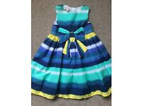 Blue Zoo party dress age 2-3 years