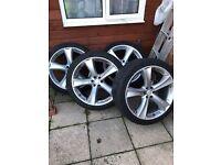Nissan navara 22 inch wheels