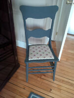 Refinished Farm Style Chair