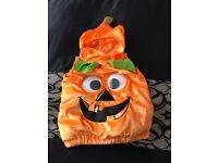 Pumpkin 🎃 Halloween 👻 costume size 3-4 years
