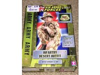 Army Infantry Desert Outfit - Age 3-8yrs
