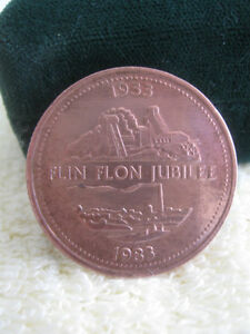 "LARGE HEAVY ""FLIN FLON JUBILEE [1933 to 1983] COLLECTOR'S COIN"