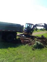 Excavations, drains, driveways, culverts, ditching