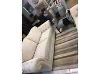 cream fabric suite