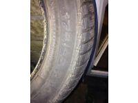 4 part worn Continental winter/snow tyres 175/65 R14
