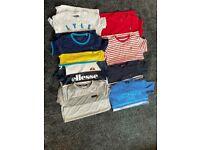 8 Designer t-shirts age 10-11 yaers
