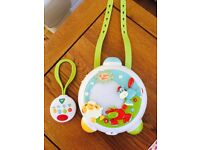 Early Learning Centre Blossom Farm Cot musical Light Show with Remote Control