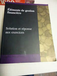 ELEMENTS DE GESTION FINANCIERE