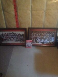2002 Double Gold framed pictures