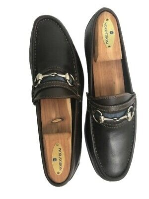 Authentic Vintage Gucci Horsebit Loafer in Brown Leather, Mens Size 40 1/2 E