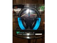 Razer Kraken Mobile Headphones (Blue, brand new)