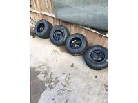 Supermoto quad wheels