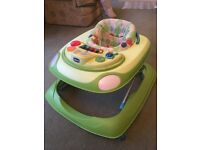 Chicco interactive musical baby walker