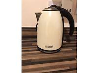 Cream Russell Hobbs kettle