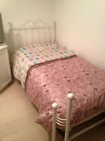 twin bed set of two