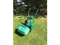 Petrol qualcast 35s self drive lawnmower
