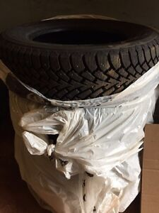 Goodyear Nordic Winter 235/65R17 studded winter tires