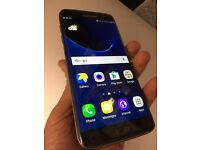 Samsung galaxy S7 edge black 32gb factory immaculate condition