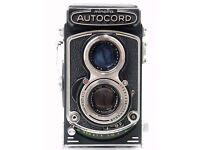 Minolta Autocord 6x6 TLR Medium Format Camera