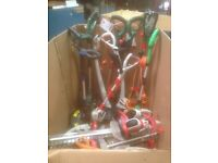Grass strimmers hedge cutters pick your own all tested but mixed brands £15 each