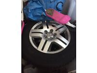 Vw golf wheels 5stud