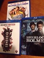 3 Blu-Ray Lot - Good condition