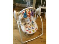 ***Reduced*** Chad Valley Deluxe Baby Swing/Rocker