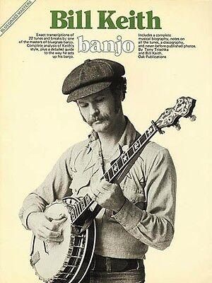 Bill Keith Banjo Sheet Music Bluegrass Masters Series NEW (Bill Keith Banjo)