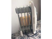 Mini oil radiator / heater