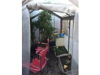 Canvas greenhouse