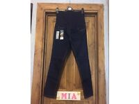 Maternity jeans size 10 (brand new)