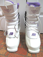 Ski boots, down hill, excellent condition, size 9 ladies, $50