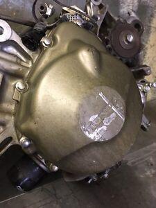 2002 Honda cbr f4i 600 left side engine covcovering