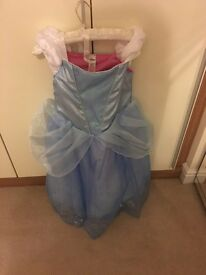 Disney store reversable Cinderella dress age 7-8