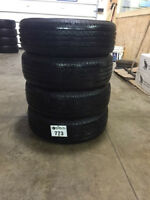 4-P195/65/15 Goodride Radial SP06 tires - SALE installed, no tax
