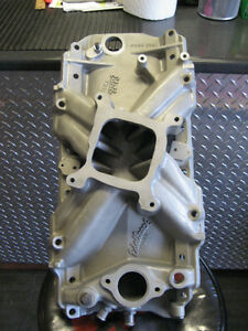 bb gm edelbrock intake #2695 Kingston Kingston Area image 1