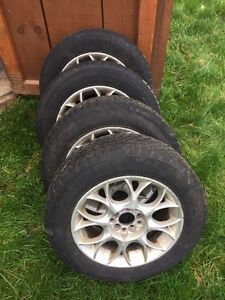 Winter rims and tires.  Cambridge Kitchener Area image 1
