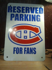 Man Cave Parking signs treaspaing sports Kitchener / Waterloo Kitchener Area image 2