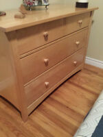 Bookshelf and Dresser, Wood, Perfect Condition