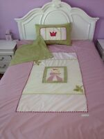 litterie de princesse pour enfant lit simple libellule