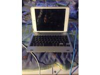 iPad mini1 wifi + 3G EE + Bluetooth keyboard case and flip case