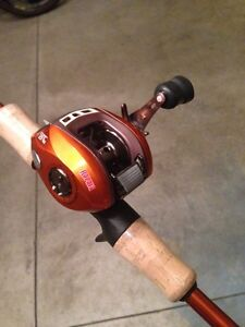 Brand new fishing spinning and bait cast rods Cambridge Kitchener Area image 2