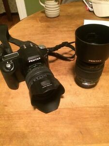 Pentax DSLR camera and lenses Kingston Kingston Area image 1