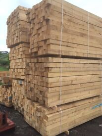 Brand New Wooden 4x4 Fencing Posts for Sale