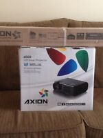 Axion a660 LED Smart Projector and 72inch screen