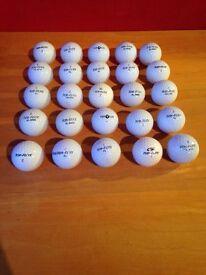 25 Top Flite golf balls